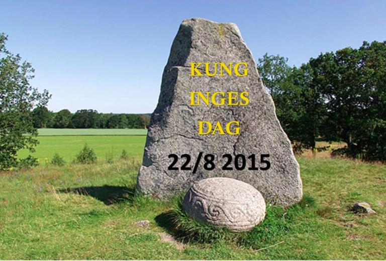 Kung Inges Dag 22/8 2015